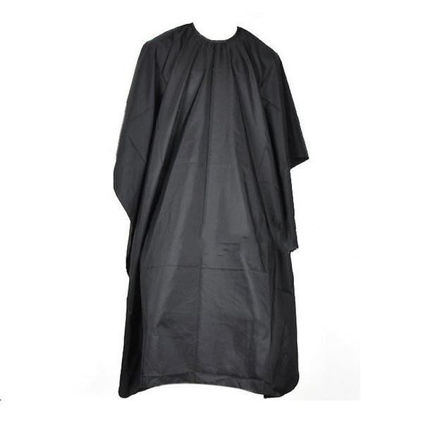 Corte de cabello Peluquería Paño Peluqueros Peluquero Gran salón Adulto Impermeable Cape Gown Wrap Peluquero Negro Cape Gown Wrap