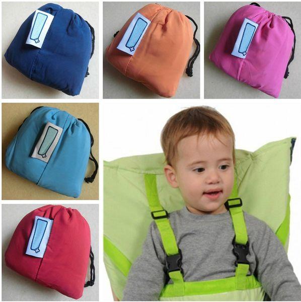 top popular Portable Baby Kid Toddler Child Infant Newborn Travel Feeding High Travel High Chair Infant Seat Portable High Chair 20pcs lot 2021