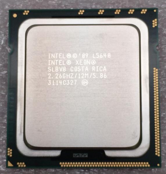 Intel Xeon L5640 2.26GHz 12MB 5.86 GT/s SLBV8 LGA1366 Server CPU