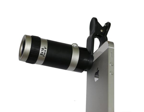 Online cheap universal zoom optical lens mobile phone telescope