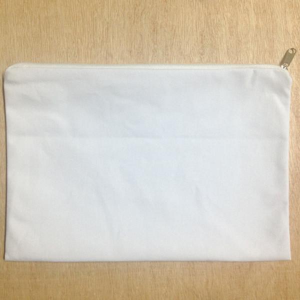 (100pcs/lot)plain white color pure cotton canvas coin purse with white zipper unisex casual wallet blank cotton pouch for custom paint