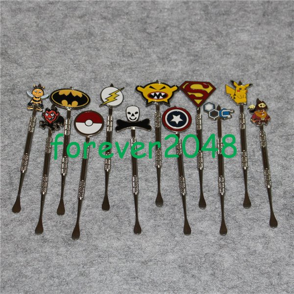 New arrived HBO oil wax dabber tool kit with cool logo design silver colros dabber tool wax oil dabber tools