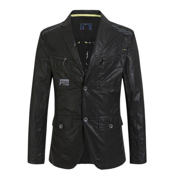 Sıcak Satış 2016 bahar yeni otantik moda marka erkekler kesim standart ince ceket ceket Erkekler 'Sigg