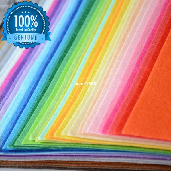 All Size Polyester Nonwoven Fabric DIY Patchwork Sewing Handmade Needlework Felt Fabrics Textile Material food craft supplies