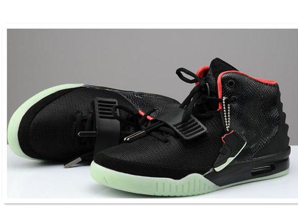 2019 Kanye West 2 Uomo Scarpe da basket Calzature sportive Sneakers Scarpe da ginnastica, Scarpe da ginnastica all'aperto Scarpe da corsa, Stivali da atletica Scarpe da allenamento