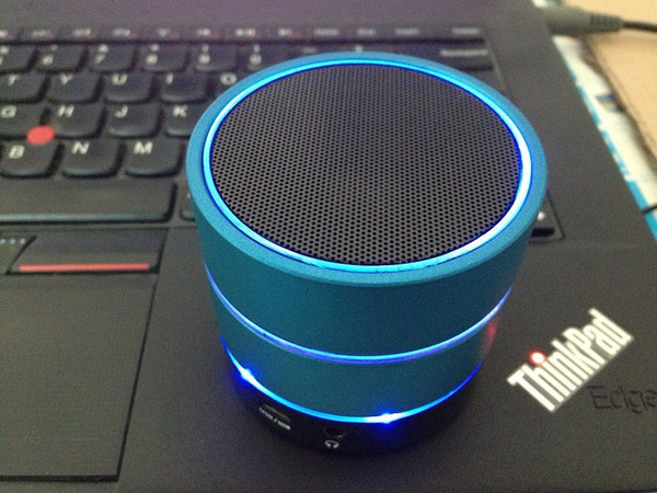 best selling Led Light beatbox S09 new Wireless Bluetooth Mini Speaker Phone with TF Card and MIC For iphone 6 5S htc samsung S4 I9500 S5 9600 US0029