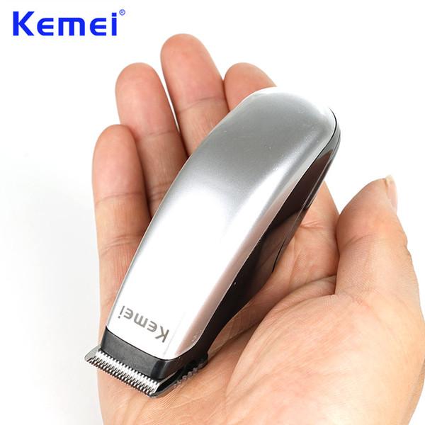 Kemei Yeni Tasarım Elektrikli Saç Kesme Mini Saç Düzeltici Kesme Makinesi Sakal Berber Jilet Erkekler Için Stil Araçları KM-666