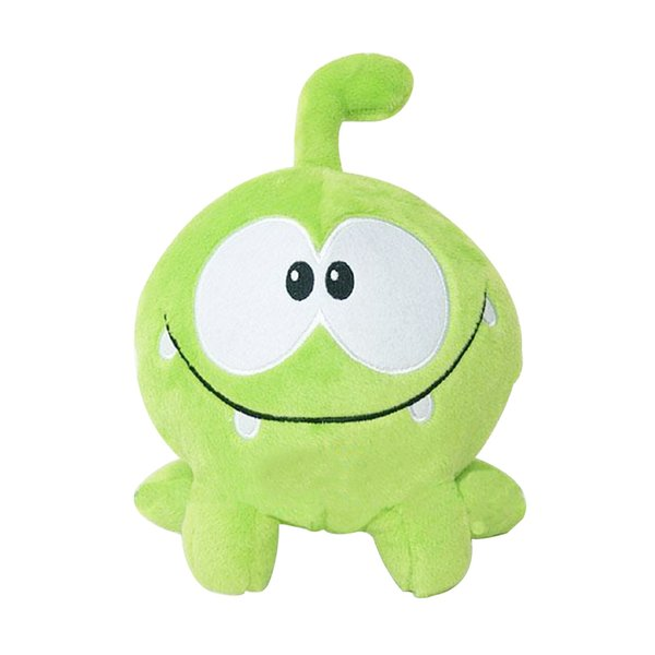 """1PC Kawaii 7""""20cm om nom frog plush toys cut the rope Soft rubber cut the rope figure classic toys game lovely gift for kids"""
