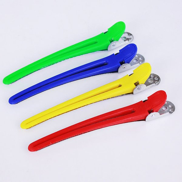 5PCS Colorful Hair Clips Professional Hairdressing Salon Sectioning Hair Styling Tools Braiding Clip Hairpins Accessory Pin