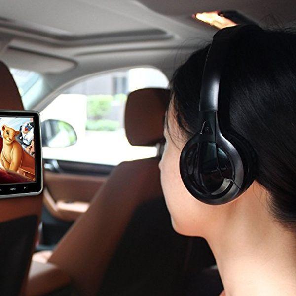 IR Infrarot Drahtloser Kopfhörer Stereo Faltbarer Auto Headset Kopfhörer Indoor Outdoor Musik Kopfhörer TV Kopfhörer