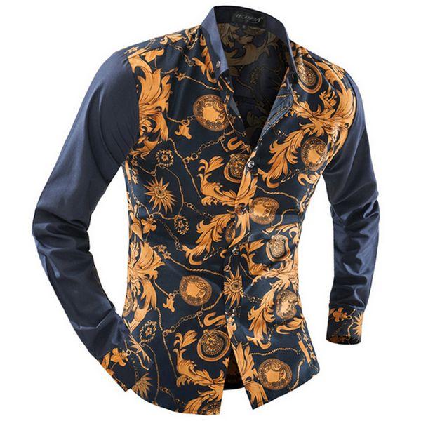 Wholesale-Design and Color Summer Men'splaid Shirts 100% Cotton Long Sleeve Mens Dress Shirts Good Quality Business Casual Menshirt 2XL