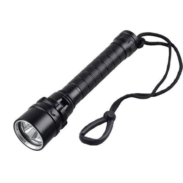 3 CREE XM-L2 LED Diving Flashlight 3000 Lumens Waterproof Aviation Aluminum Shell Outdoor Fishing Surfing Flash Light LED Bulbs SL-LF-1243