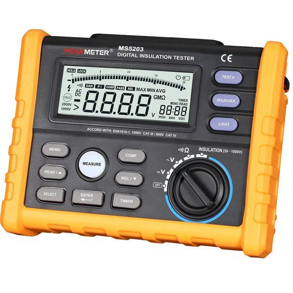 Freeshipping Digital Insulation Resistance Meter Tester Multimeter Megohm Meter 0.01-10G ohm HV meter