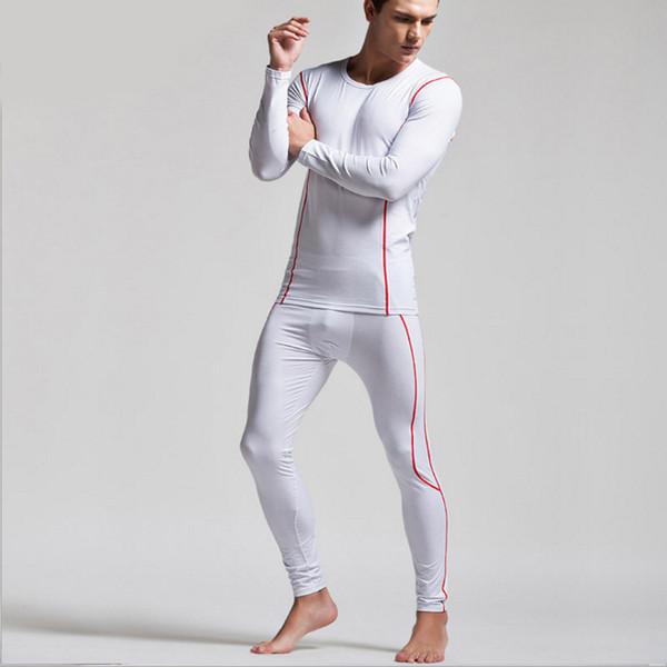 2pcs High Quality Men's Thermal Underwear Suits Top Bottom Fur Fleeced Long Johns Waffle Knit Keep Warm Undershirt Leggings Run Small 1 Set