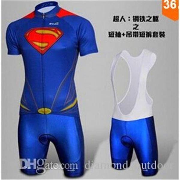 Captain America Superman Spiderman Batman Ciclismo 2015 Superhero