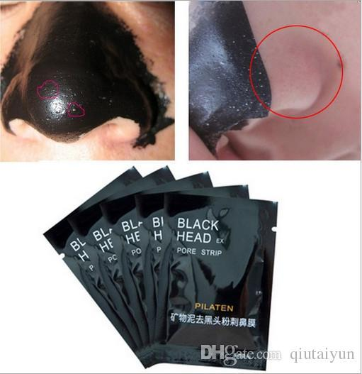PILATEN Facial Minerals Conk Nose Blackhead Remover Mask Pore Cleanser Nose Black Head EX Pore Strip B225-1