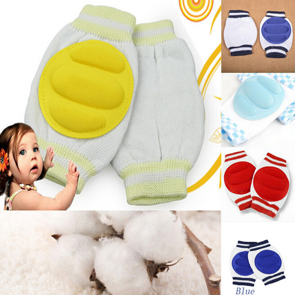 best selling Cute Kids Safety More breathable Crawling Elbow Cushion Infants Toddlers Baby Knee Pads Protector Leg Warmers Baby Kneecap 6 colors