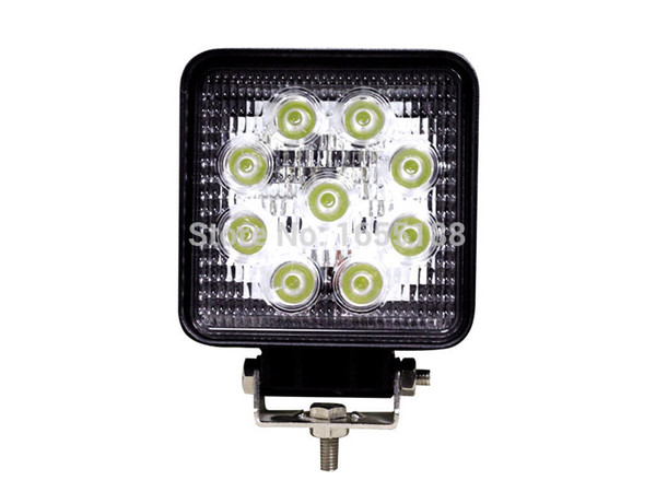 4 Inch 27W LED Work Light Led Offroad Headlight Car lamp for Driving Offroad Boat Car Tractor Truck 4x4 SUV ATV Flood 12V 24V