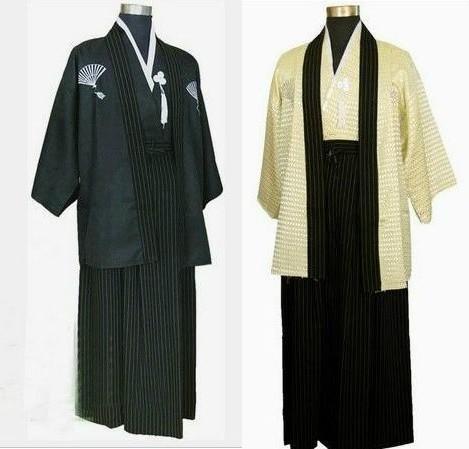 best selling Large landowners samurai costume kimono costume clothing photographed portrait Japan Japanese kimono dress for men