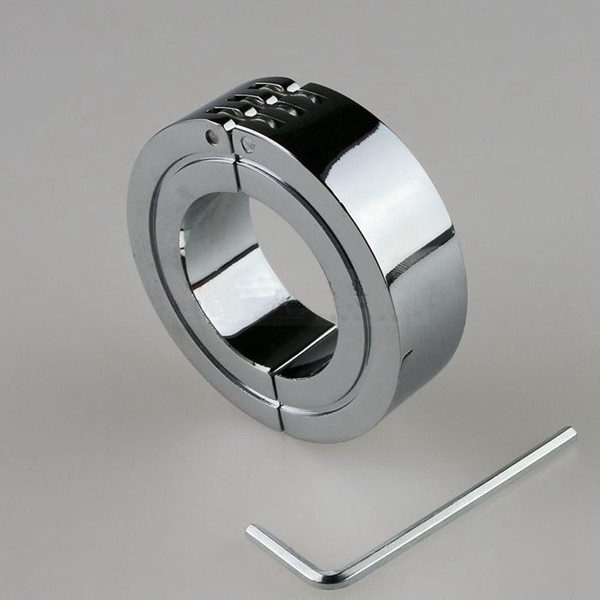 Sexy Metal Penis Ring Male Penis Cock Restraint Gear BDSM Fetish Sex Toys for Men Three Sizes Available Cheap Price