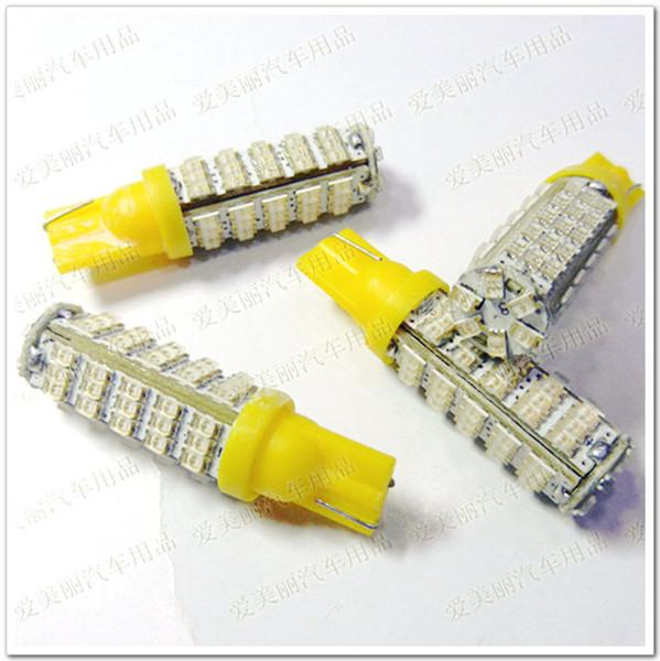 Hight Power 10PCS T10 LED Car Wedge Bombilla 12V 66 SMD 66 LED Car Blub