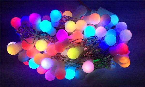 Light Led Foe Wedding Led Wedding Decoration LED Wedding Fairy Lights Solar Christmas Decorations Outdoor String Lights 30pcs Colorful