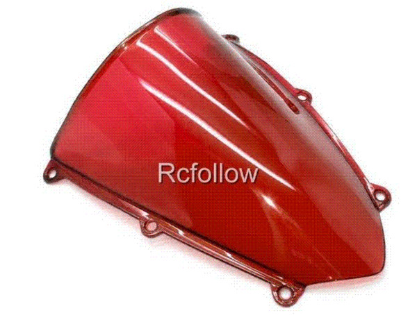 New Motorcycle Red Windshield Windscreen Fit For CBR600RR CBR 600 RR 2007-2008 motorcycle jacket windshield decal