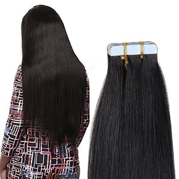 2018 Good Quality Unprocessed 100 European Human Virgintape In Hair