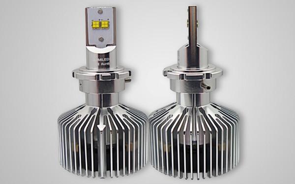 1 Set D1 / D2 /D3 /D4 90W LUMILED Headlight Single Beam 9000lm LUXEON MZ CHIPS 4LED Xenon White 6000K 12/24V 45W/Bulb 4500lm H4 H7 LED Kit