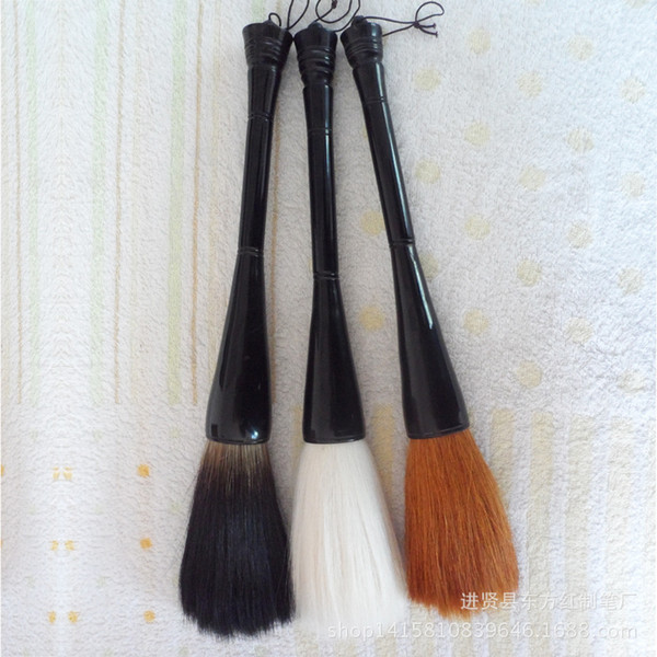 Al por mayor-Gran pintura tradicional china pincel oso centavos cuerno pluma caligrafía couplet pincel con letras mayúsculas 0647