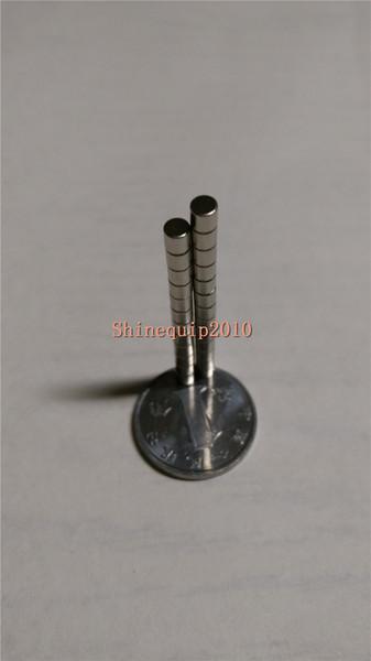 100pcs Neodymium Disc Mini 2 X 2mm Rare Earth N35 Strong Magnets Craft Models Hot!