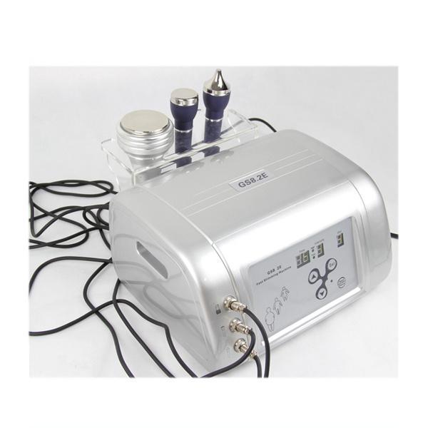 Máquina de cavitación ultrasónica portátil. Cavitación de ultrasonidos para uso en el salón y en el hogar con 1MHZ y 3MHZ ultrasonidos para tratamiento facial.
