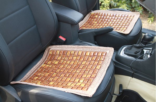 Monolithic Brown Lace Cushion Summer Car Tapicería Cuatro Hand-Woven Seat Cushion 64-2B 1955 Ecological Log Refreshment