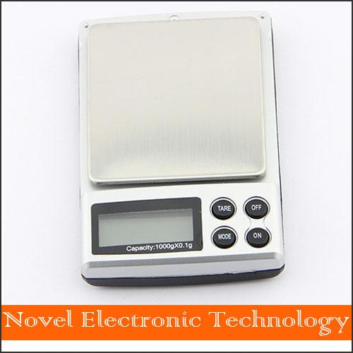 Free shipping Holiday Sale 2000g x 0.1g Pocket Electronic Digital Jewelry Scales Weighing Kitchen Scales Balance