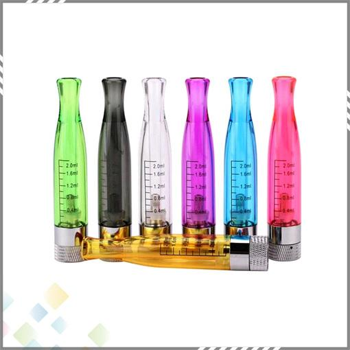 Vaporizer 7 Colors Clearomizer GS H2 Atomizer with Rebuildable Bottom Coil PK CE4 Atomizer