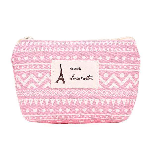 Wholesale- Hot Sale Women Girl Sanitary Pad Organizer Holder Cute Printed Napkin Towel Convenience Bags Zipper Mini Coin Purse Wallet