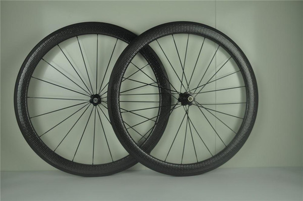AWST 700C carbon wheelset 50mm dimple carbon wheels clincher 25mm width basalt surface carbon wheelset for road bicycle 303 wheels hot sales
