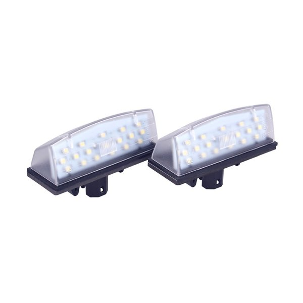 2x Lexus CT Bright Xenon White LED Number Plate Upgrade Light Bulbs