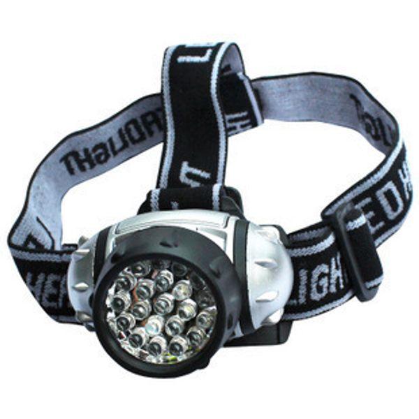 50pcs Portable Lighting Waterproof 21 Led Headlamp Light Outdoor Hiking Headlamps LED Headlight Camping Lights Fishing Headlights Flashlight