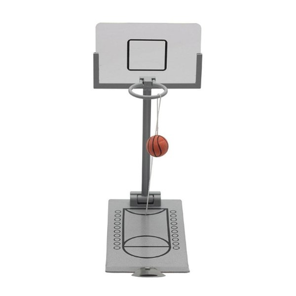 Mini Desktop Folding Reducing Basketball Machine Toy Office School Decompression