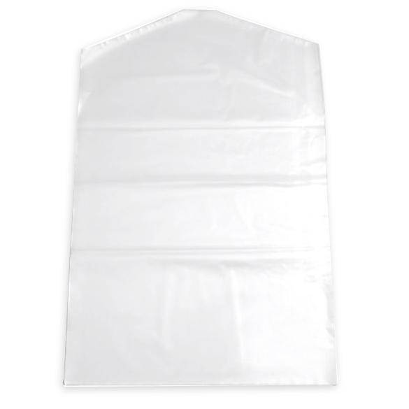 Wholesale- 10pcs Clothes Suit Garment Dustproof Cover Transparent Plastic Storage Bag