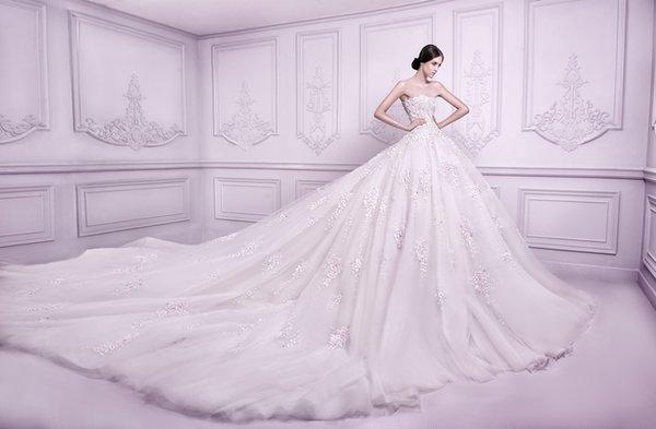 Discount Luxury Michael Cinco Wedding Dresses Fall 2015 New ...