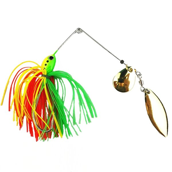 latest fishing lure hard bait rotary composite sequins buzzbait, Hard Baits