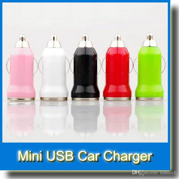 Mini USB Car Charger for iPhone4 4s 5 5s 5c 6 6s Samsung S3 S4 NOTE 1 2 3 HTC Cell Phone BLACKBERRY