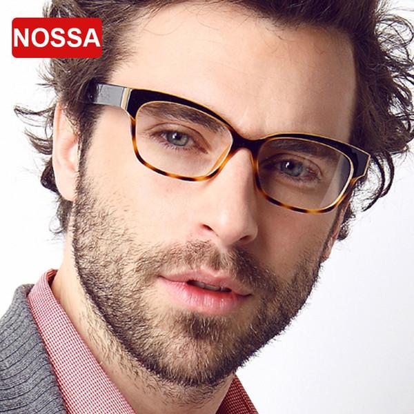 9e119f4652 Wholesale- NOSSA Brand Candy Color TR90 Glasses Frame Men Korea Style  Computer Glasses Myopia Glasses