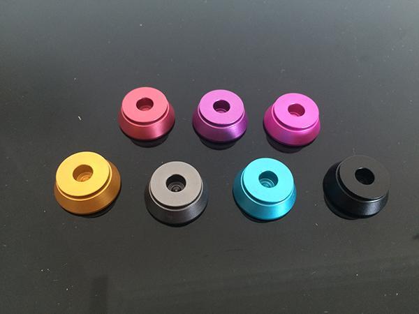 E Cig Atomizer Stands Colorful Display Base de metal E Smoking Holder para EGO RDA RBA CE4 GAX vhit DCT Vivi Nova Protank