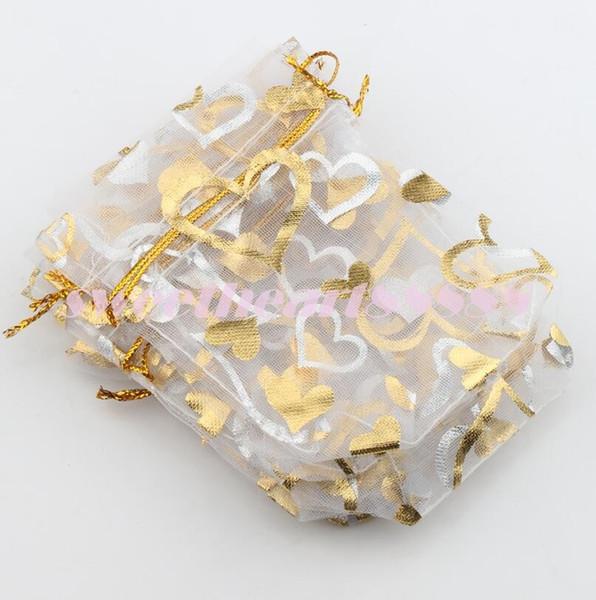 coração de ouro branco