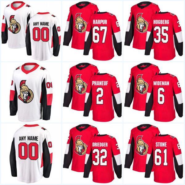 24 Oscar Lindberg Ottawa Senators Maglie 14 Alex Burrows 59 Alex Formenton 9 Bobby Ryan 61 Mark Stone 19 Derick Brassard Maglie da hockey