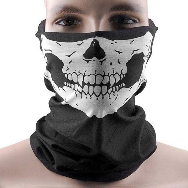 Ventes chaudes Crâne Bandana Vélo Moto Casque Cou Masque Visage Ski Cyclisme Sport Bandeau Livraison gratuite