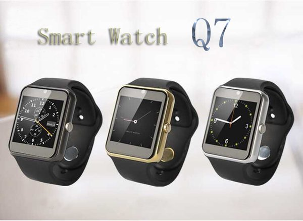 Bluetooth Q7 Smart Watch Compatible Platform IOS Android With Pedometer  Camera Monitoring Sleep Sedentary Reminder For IPhone Samsung Galaxy The  Best